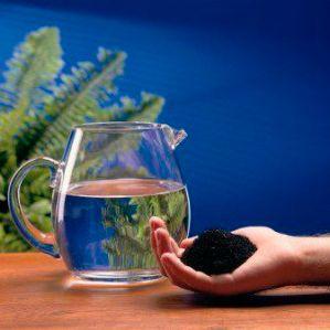 agua y carbón